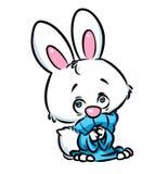 逗人喜爱的兔宝宝 图库摄影
