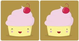 逗人喜爱的冰淇凌 免版税库存图片