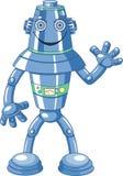 逗人喜爱的动画片机器人 库存图片