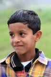 逗人喜爱的印第安男孩 图库摄影