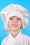 逗人喜爱的厨师一点 库存图片