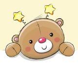 逗人喜爱的图画玩具熊 皇族释放例证