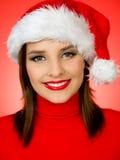 逗人喜爱的圣诞老人 免版税库存图片