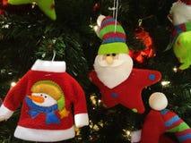 逗人喜爱的圣诞节 免版税库存照片