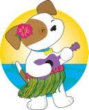 逗人喜爱的夏威夷小狗 免版税图库摄影