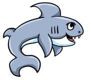 逗人喜爱的大鲨鱼 皇族释放例证
