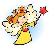 逗人喜爱的天使一点 库存照片