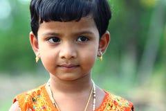 逗人喜爱的女孩印地安人 免版税库存图片