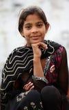 逗人喜爱的女孩穆斯林 免版税图库摄影