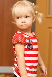 逗人喜爱的婴孩 免版税图库摄影