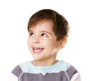 逗人喜爱的孩子 免版税库存图片