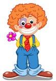 逗人喜爱的小丑 免版税库存图片