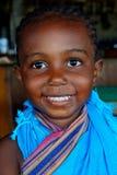 逗人喜爱的小女孩,狄亚尼,肯尼亚 免版税库存照片
