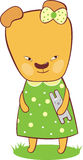 逗人喜爱的小熊 免版税库存图片