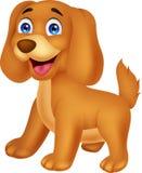 逗人喜爱的小狗动画片 库存照片