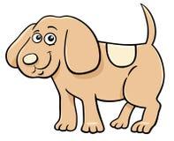 逗人喜爱的小狗字符动画片例证 库存图片