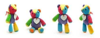 逗人喜爱的小的玩具熊 免版税库存照片