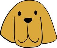 逗人喜爱的小的Bloodhoundl画象  狗朋友 r 向量例证