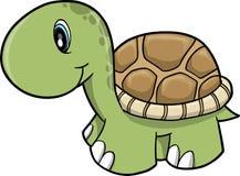 逗人喜爱的徒步旅行队乌龟向量