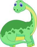逗人喜爱的恐龙动画片 库存图片