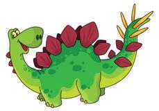逗人喜爱的恐龙 免版税库存图片