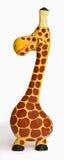 逗人喜爱的木长颈鹿-正确的看法 免版税库存图片