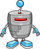 逗人喜爱的机器人向量 免版税库存图片