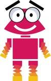 逗人喜爱的机器人-向量clipart 库存图片