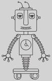 逗人喜爱的机器人 库存照片