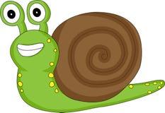 逗人喜爱的查找的蜗牛 免版税图库摄影