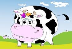 逗人喜爱的母牛 库存照片