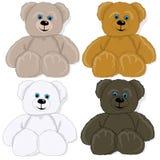 逗人喜爱的熊的例证 免版税库存照片