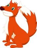 逗人喜爱的狐狸动画片 库存照片