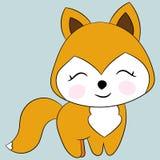 逗人喜爱的狐狸 库存图片