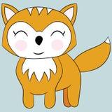 逗人喜爱的狐狸 图库摄影