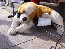 逗人喜爱的狗玩偶玩具 免版税图库摄影