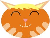 逗人喜爱的猫表面 库存照片