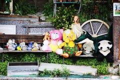 逗人喜爱的玩具 免版税库存照片