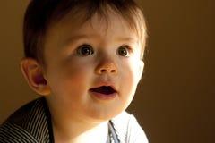 逗人喜爱的男婴 库存照片