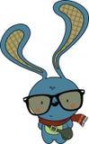 逗人喜爱的看的行家兔宝宝 免版税图库摄影
