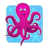 逗人喜爱的章鱼 免版税库存照片