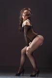 逗人喜爱的舞蹈演员 库存图片
