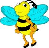 逗人喜爱的蜂动画片 库存图片
