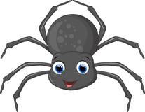 逗人喜爱的蜘蛛动画片 库存照片