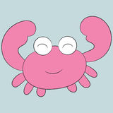 逗人喜爱的螃蟹 免版税库存照片