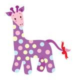 逗人喜爱的长颈鹿 免版税库存图片