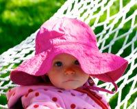 逗人喜爱的闪耀炫目婴儿查找s 库存图片