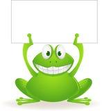 逗人喜爱的青蛙 图库摄影