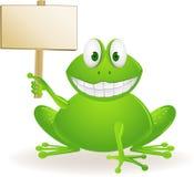 逗人喜爱的青蛙 免版税库存照片