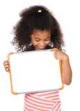 逗人喜爱的非洲女孩 库存照片